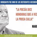 Mario Benedetti: uno de los exponentes del haiku en Sudamérica