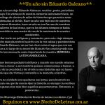 Un año sin Eduardo Galeano…