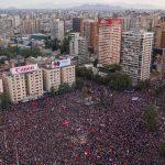 Chile, manifestaciones populares, represión y Violeta Parra