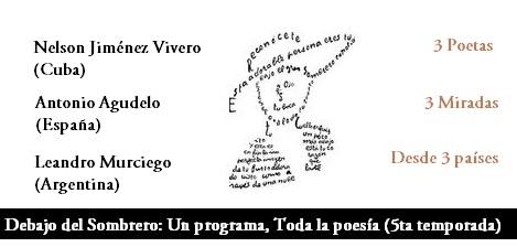 Afiche del programa 2