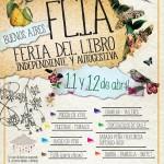 Llega la otra Feria del Libro, el 11 y 12 de abril