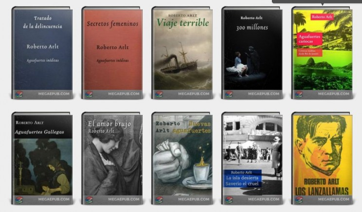 Captura Libros Gratis de ARlt