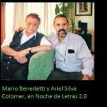 Ariel Silva Colomer y Mario Benedetti