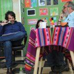 Daniel Quintero y Leandro Murciego en APALABRARTE