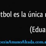 Galeano y el fútbol