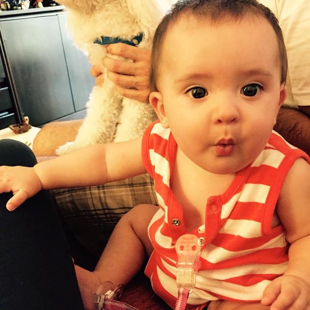 Eva 7 meses