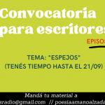 3a convocatoria de PAMA y Noche de Letras 2.0 para escritores y amantes de las letras