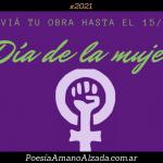 """Convocatoria artística II. """"Día de la mujer"""": envianos textos, fotos u obras plásticas"""