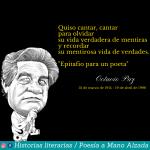 Octavio Paz, un embajador de las letras