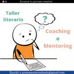 Taller literario vs. Coaching y Mentoring literario