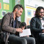 Sebastián Basualdo y Gonzalo Unamuno en APALABRARTE