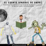 El cuento breve de André: Una historia de terror. Un zombi. Un maniquí. Un libro de cuentos. Y un padre ausente.