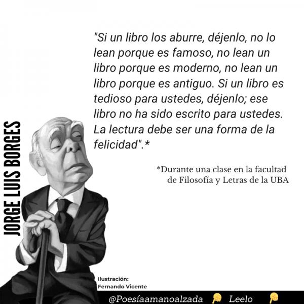 Borges: el escritor que se negó a escribir novelas