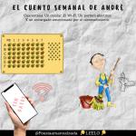 El cuento semanal de André. El Wi-Fi. Un celular. Un portero eléctrico. Y un encargado