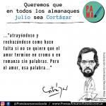 "Cinco frases inolvidables de ""Rayuela"""