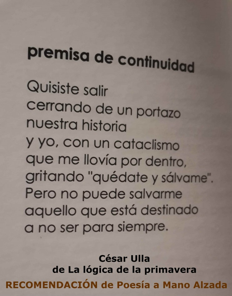 Premisa de continuidad - Ulla