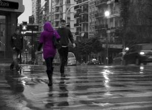 SalvoGuille  Desencuentro bajo la lluvia