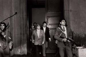 Santiago de Chile, Palacio de Gobierno, septiembre de 1973