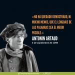 Artaud. La tragedia y el drama. Y el presagio de la peste