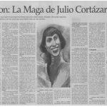 """Se fue """"la Maga"""": a los 96 años falleció la musa de Rayuela"""