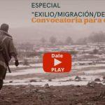 """¡Escuchá YA! Especial """"Destierro/ exilio / migración"""" (con la poesía de los oyentes). Podcast #160 de Noche de Letras 2.0"""