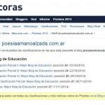 Premios Bitácoras 2014, misión cumplida