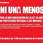 #NiUnaMenos, ni una más