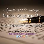 Noche de Letras 2.0, ya tiene artística oficial
